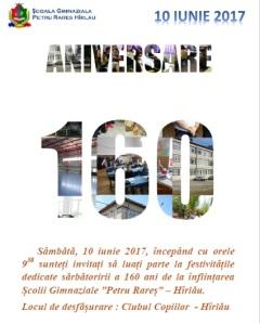 160 ani de școală