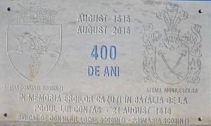 pisanie monument Contaș